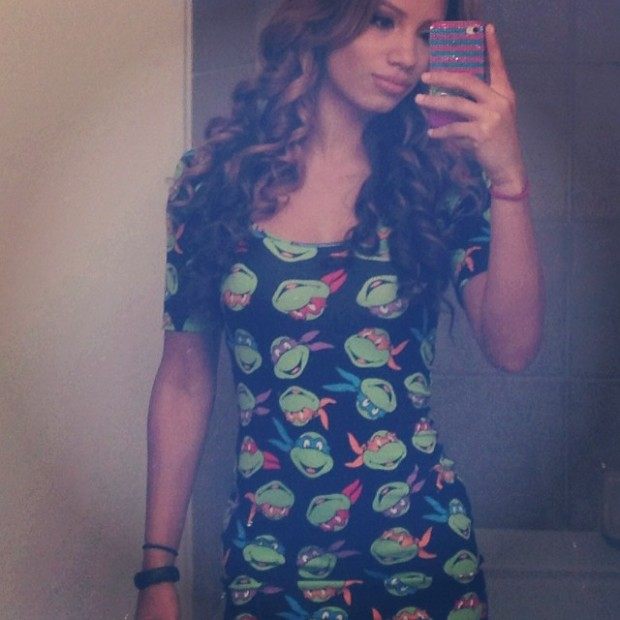 Sasha Banks Ninja Turtle Dress - WWE NXT Wrestler