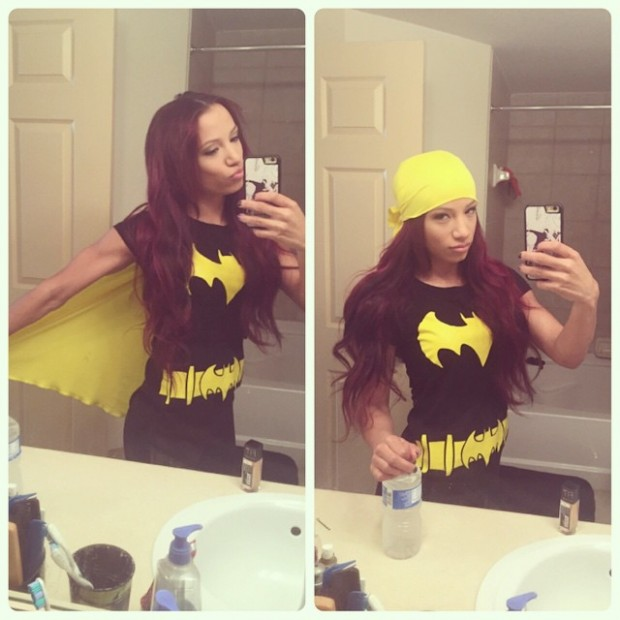 Sasha Banks Batman Costume - Legit Boss WWE Diva Halloween Costumes