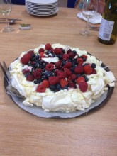 Sometimes puddings are exceptional - like this pavlova by Dawn