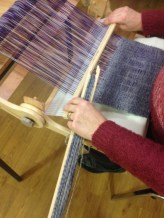 Weaving on the Knitters Loom is a great way to start