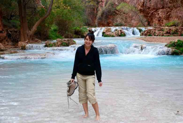 Havasupai Falls are off-the-beten-oath waterfall in Arizona