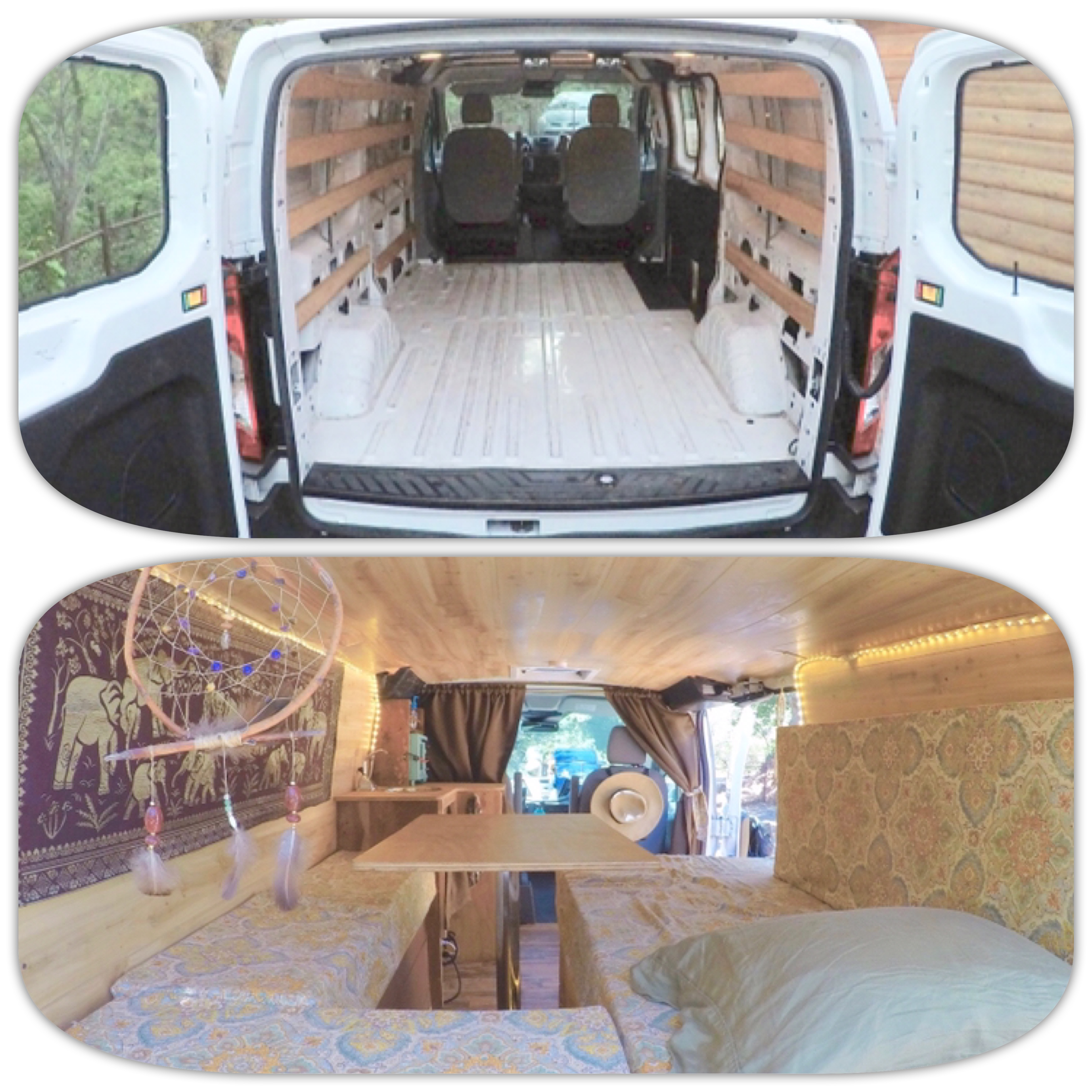 Casper Before After?resize=1024%2C1024 how i converted a cargo van into an off grid camper for less than