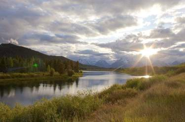 grand tetons and snake river