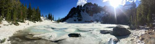 surpise lake in grand teton national park