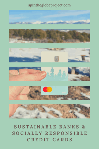 sustainable and ethical Banks and socially responsible credit cards