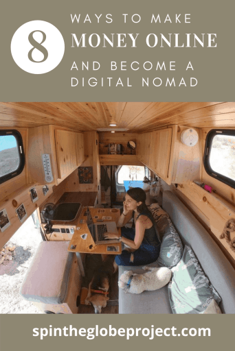 how to earn a remote income and become a digital nomad