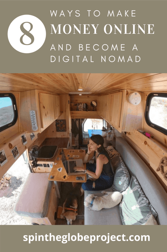 8 ways to make money online and become a digital nomad