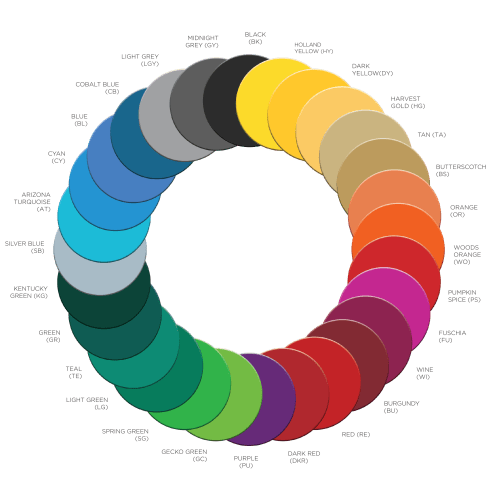 small resolution of a variety of colours