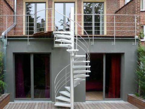 escaliers exterieurs