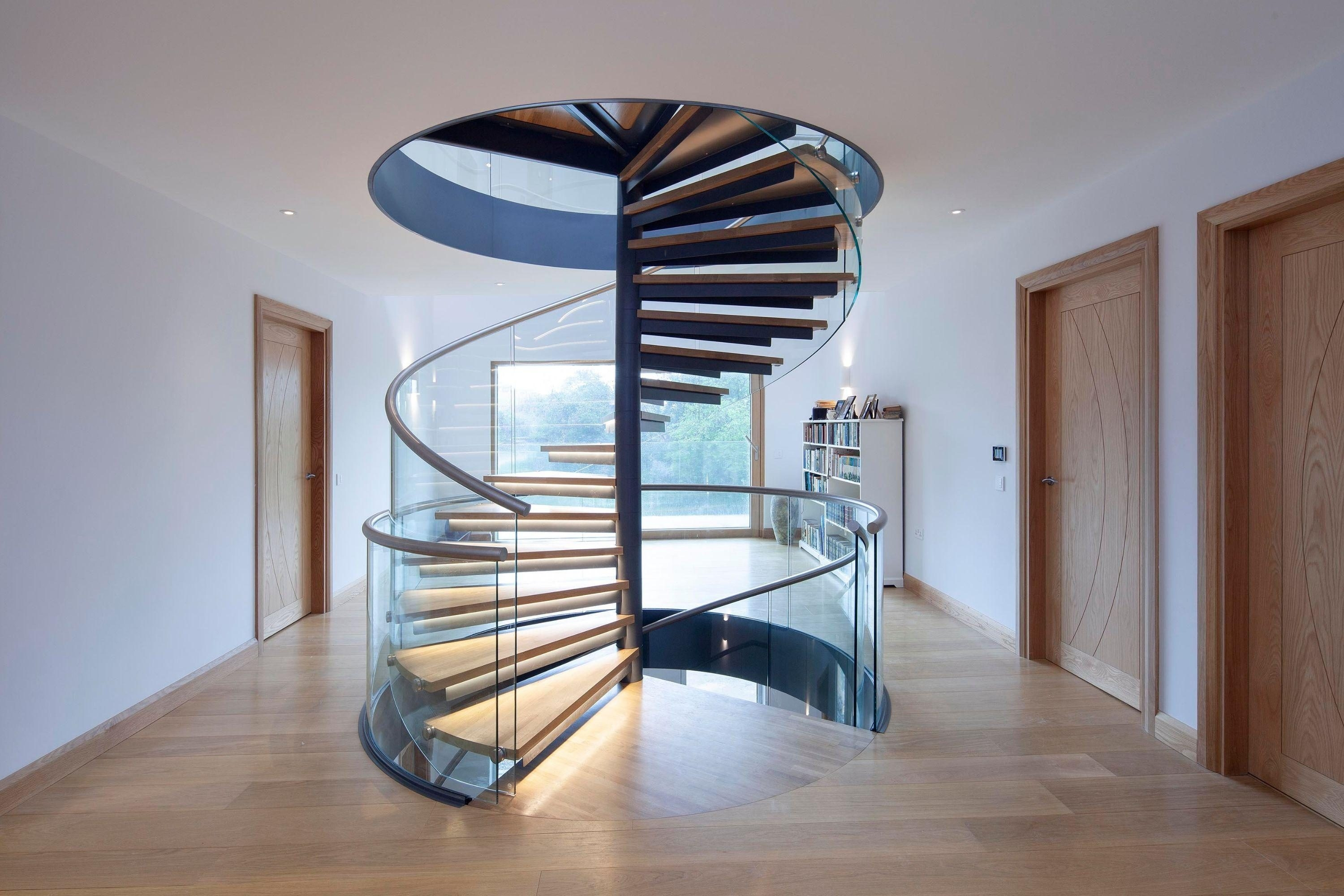 Regulations For Residential Staircases Spiral Uk | Spiral Staircase Into Loft | Loft Conversion | Small Spaces | Tiny House | Space Saving | Staircase Design