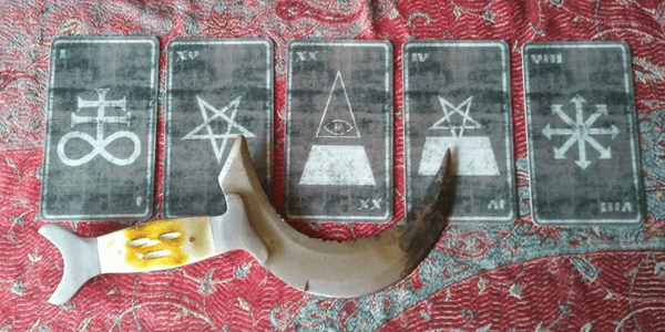 Satanic Tarot Spread