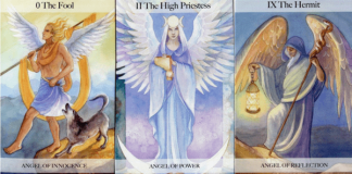 Angel Tarot by Jayne Wallace Cards