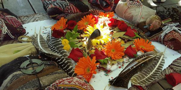 Altar, photo by Day Schildkret