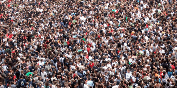 Crowd, photo by James Cridland
