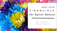 Financials for Spiral Nature May 2018