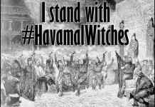 Havamal Witches, by Danica Swanson