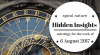 Hidden Insights: Astrology for the week of 6 August 2017