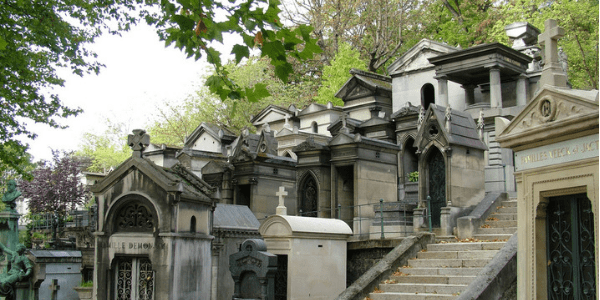 Pere Lachaise, photo by Henrik Anttonen
