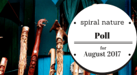 Spiral Nature Poll for August 2017