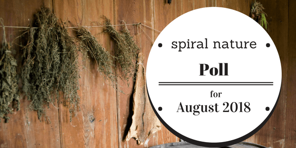 Spiral Nature Poll for August 2018