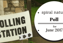 Spiral Nature Poll for June 2017