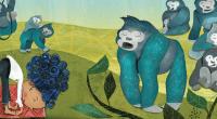 Zoo Zen, by Kristen Fischer, illustrated by Susi Schaefer
