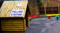 Polling station, photo by Paul Walker