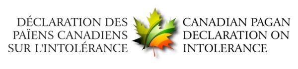 Canadian Pagan Declaration on Intolerance