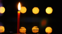 Candle, photo by Catalin Besleaga