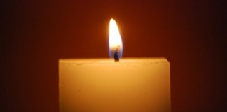 Candle, photo by webhamster