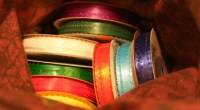 Craft ribbon, photo by chriss