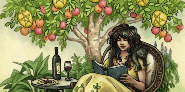 Everyday Witch Tarot, by Deborah Blake and Elisabeth Alba