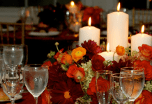 fall tablescape by Sarah McGee