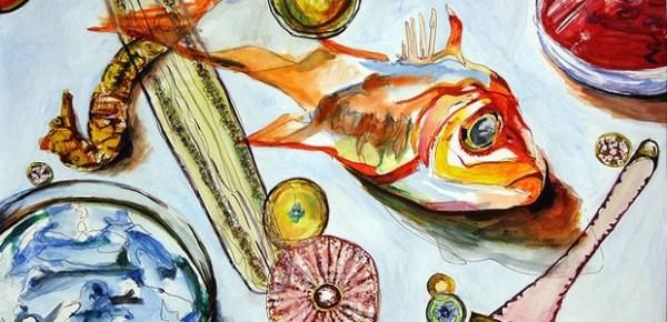 Fish art, image by Sam Reckweg