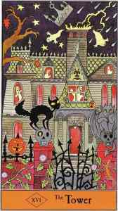 Halloween Tarot, Tower