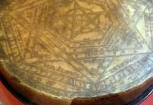 John Dee's seal, photo by Anders Sandberg