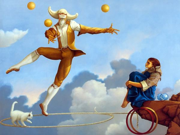 The Juggler, by Michael Parkes