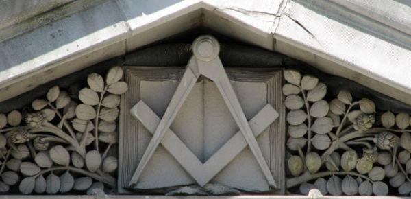 Masonic temple, photo by Andy Chase