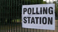 Polling station, photo by Peter