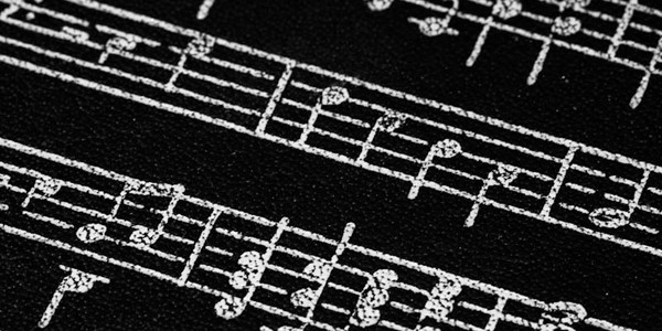 Music notes, photo by Peter Witham