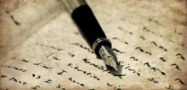 Pen and journal, photo by Joel Montes de Oca
