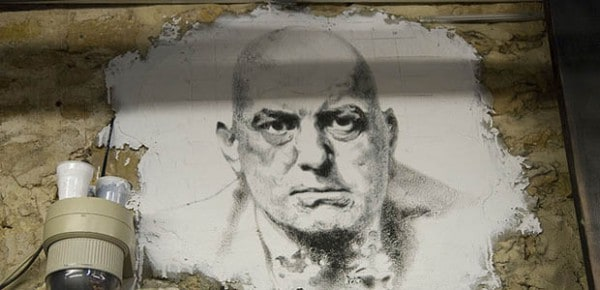 Portrait of Aleister Crowley, by Thierry Ehrmann