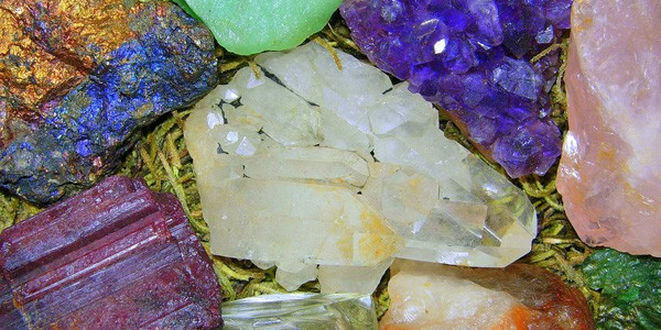 Semiprecious stones, photo by Michael Summers