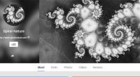 Spiral Nature Google Plus
