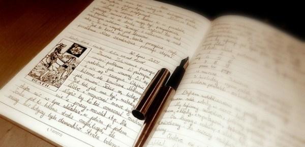Tarot journal, photo by Limeryk