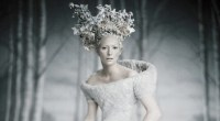Tilda Swindon as the White Witch in the Chronicles of Narnia