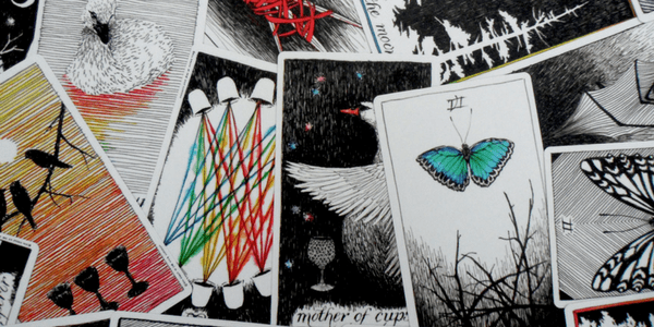 Cards from the Wild Unknown Tarot, by Kim Krans