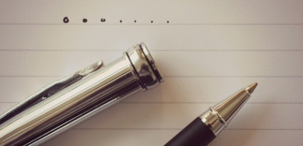 Writing, photo by TempusVolat