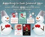 2020 holiday spectacular books image