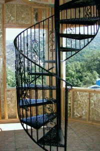 Iron Spiral Stairs - Spiral Stair People